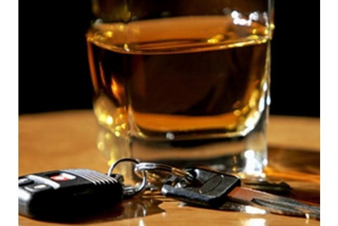 Поймано семь пьяных автоводителей, трое без прав