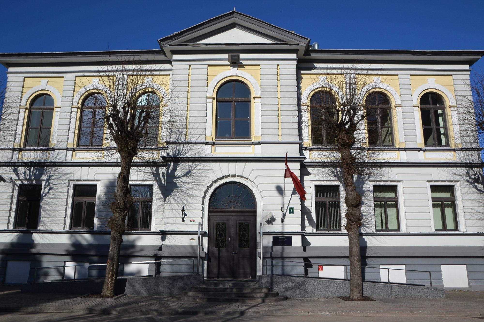 Лиепайский театр занял помещение бывшего банка