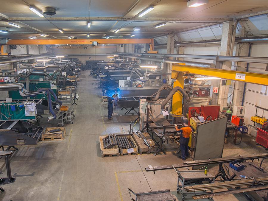 В бывшем цехе «Лиепаяс металургс» будут производить конвейеры