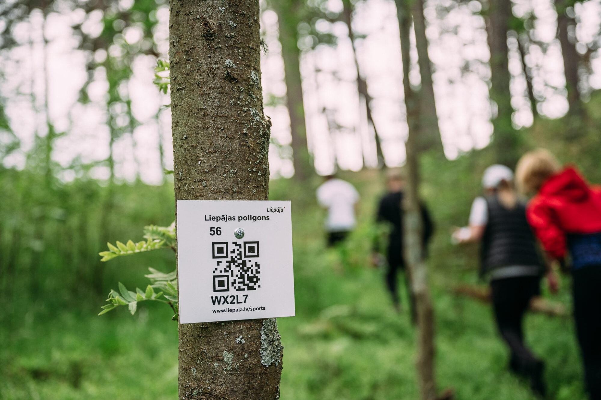 В Лиепае открыт первый полигон по ориентированию