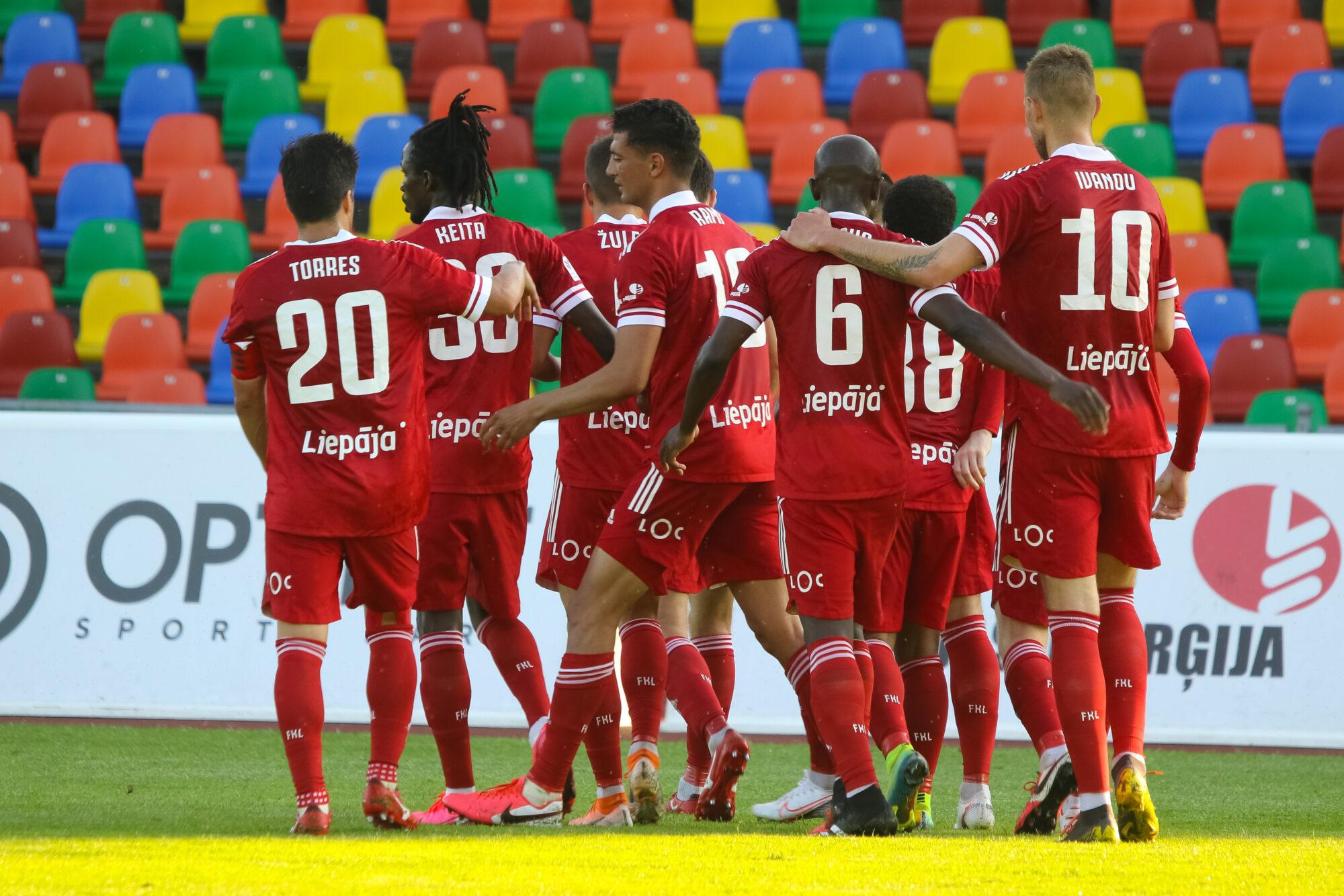 У «Лиепаи» четвертое поражение подряд в высшей лиге