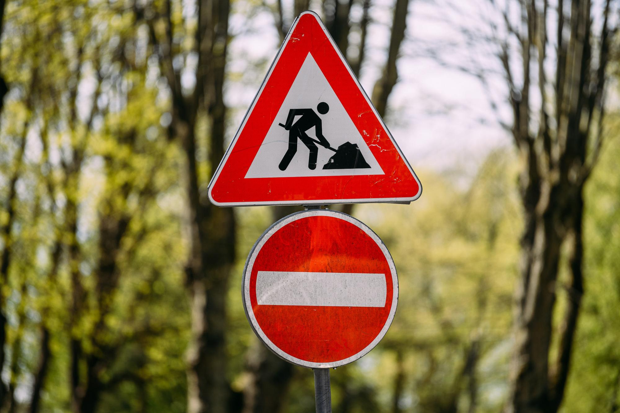 Будут ограничения движения на улице Ригас возле Трамвайного моста