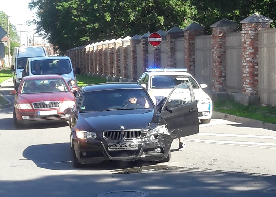 На перекрестке улиц Клайпедас и Улиха столкнулись «BMW» и «Volkswagen»