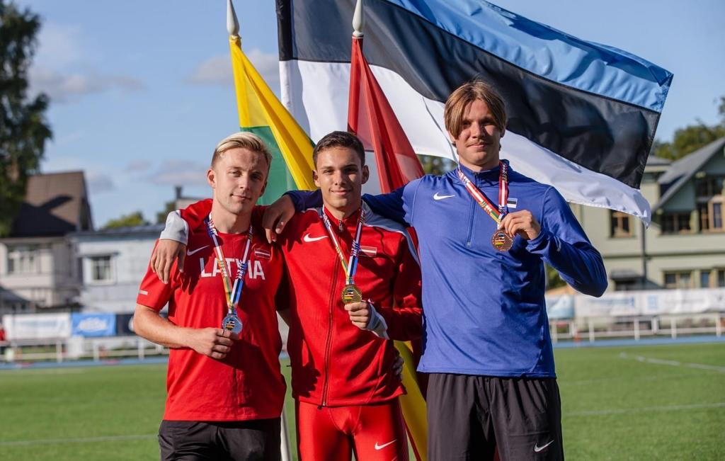 Девять лиепайских легкоатлетов участвовали в командном чемпионате Балтии