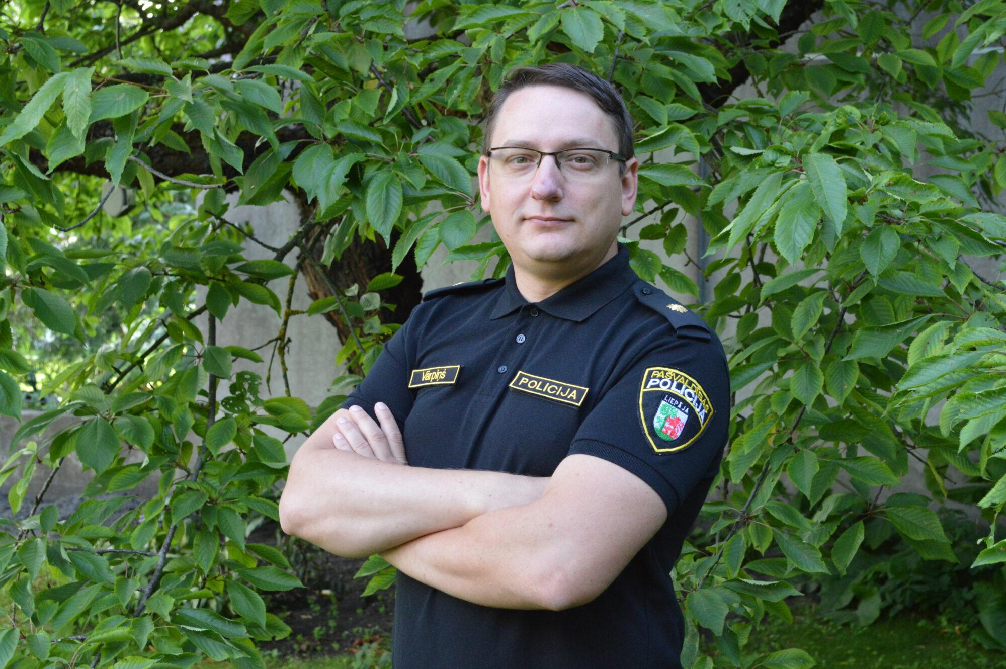 Каспар Варпиньш выдвинут на должность заместителя начальника полиции самоуправления