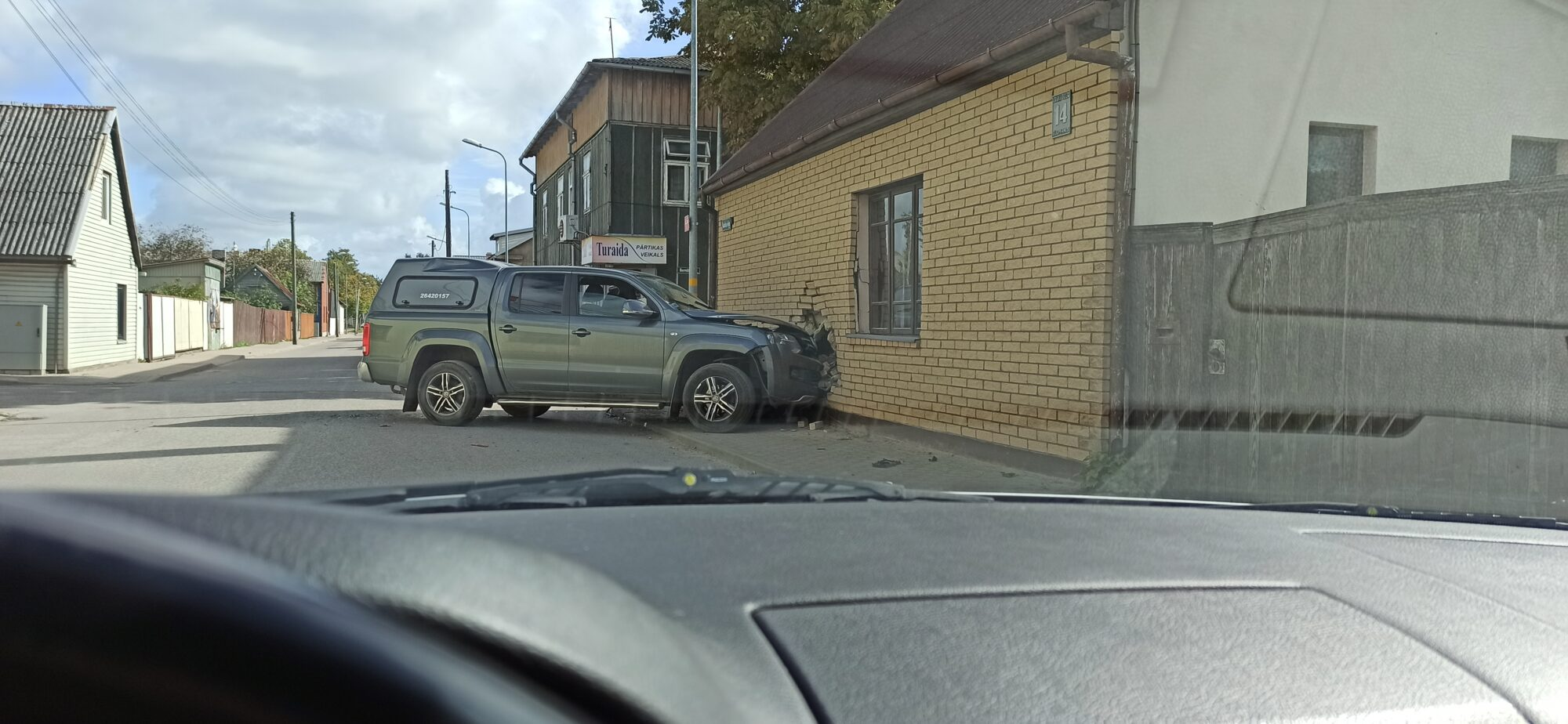 В ДТП на перекрестке улиц Лауку и Бернату семь пострадавших