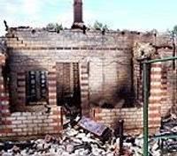 Дачникам в Ечи угрожают поджигатели