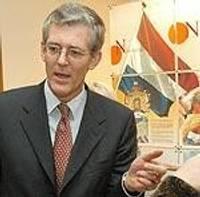 Посол Нидерландов открыл передвижную выставку в Лиепае