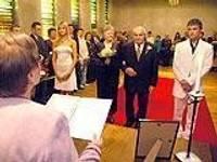 Состоялось девять свадебных церемоний
