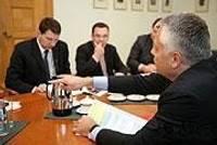 Городской голова помогает в составлении правительства