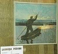 Картины и фотоработы в витринах города