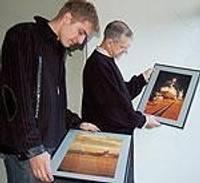 Портовики – авторы фотовыставки и будущего фотоальбома
