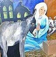 «Вифлеемская картинка» радует парой овечек и коз