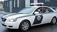 Полицейские получили ключи от новых автомашин