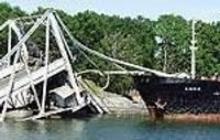 Начинается возрождение моста в Военном городке