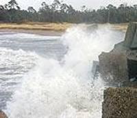 Ветер на Курземском побережье усилится