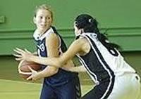Баскетболистки потерпели постыдное поражение