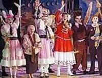 Почетные гостьи на премьере «Школы Снегурочки»