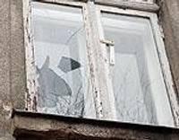 После публикации выбили окно