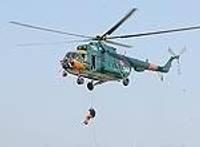 Обучали спасателей спускаться с большой высоты