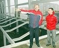 Продолжается строительство новых спортивных залов