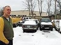 Конфискованные автомашины будут хранить не дольше месяца