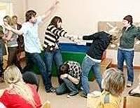 Иностранные студенты в центре «Спридитис»