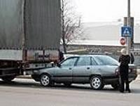 Вызвал аварию и скрылся с места происшествия