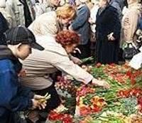 Русская община отмечает День Победы