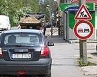 Устанавливают бессмысленные дорожные знаки