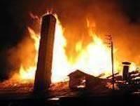 В Приекуле сгорела хлебопекарня — дополнено