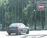 Запрещено движение с улицы Кайю