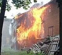 Из огня спасли четырех человек — дополнено