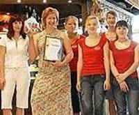 В торговом центре «Остмала» награждают лучших