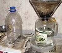 Оборудовано производство самогона
