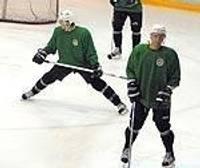 Хоккеисты наконец-то на льду