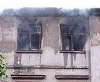 Опять пожар в Новой Лиепае