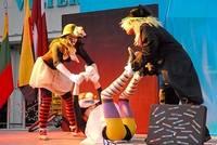 Праздник уличных театров на площади Рожу