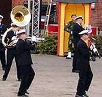 Оркестр Морских сил удивил шведов