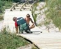В Бернатском природном парке благоустраивают места отдыха