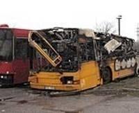 Сгорели маршрутные автобусы — ДОПОЛНЕНО
