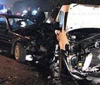 В столкновении четырех автомашин пострадали иностранки