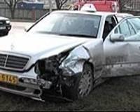 Пострадал виновник аварии