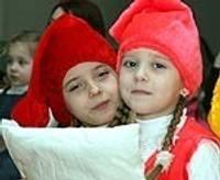 Песни и танцы в честь дня Крещения