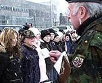 Яунсарги клянутся в верности Латвии
