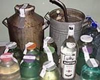 Закрыто «производство» самогона в квартире