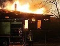 Дополнено – Загорелся деревянный домик в Приморском парке