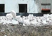 Обещают убрать строительный мусор