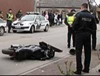 TV – При бегстве от полиции вызвал аварию