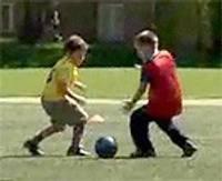 Праздник футбола для самых юных футболистов